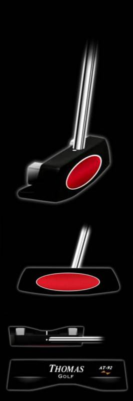 Thomas Golf AT92 Center Shafted Blade Putter