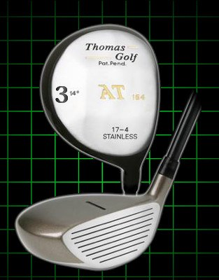 Thomas Golf Fairway Strong 3 Wood 14 degree