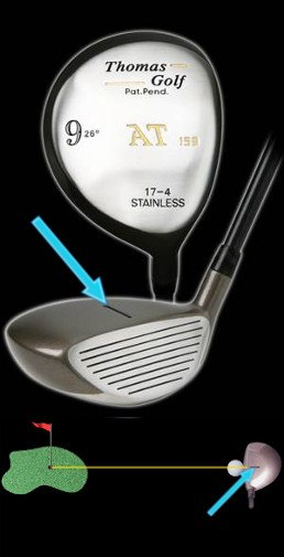 Thomas Golf Fairway Woods with Shot Aiming Technology