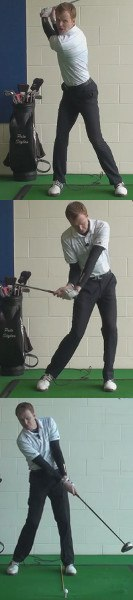 Cause And Cure Of Too Much Leg Drive, Golf Swing Tip