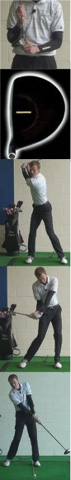 How To Hit An Offset Driver, Golf Swing Tip