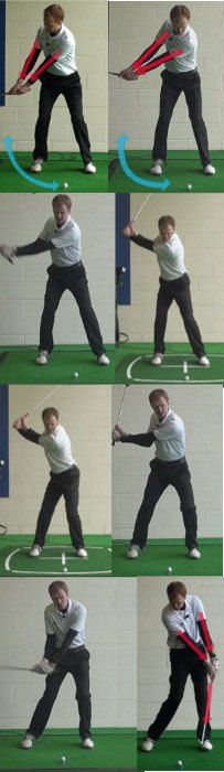 How To Keep Arms Relaxed In The Down Swing, Golf Tip