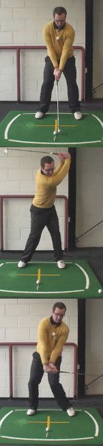 Left Hand Golf Tip Create A Full Shoulder Turn To Help Reduce A Slice