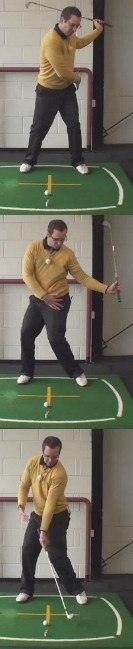 Left Hand Golf Tip From The Top Of Your Back Swing To A Full Finish Golf Swing