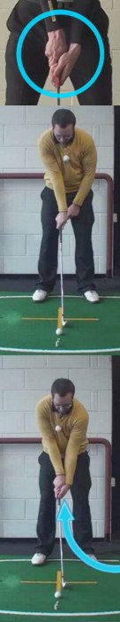 Left Hand Golf Tip How A Strong Grip Can Help Create A Power Release