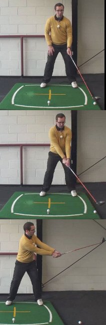 Left Hand Golf Tip How And Why Create A Wide Takeaway