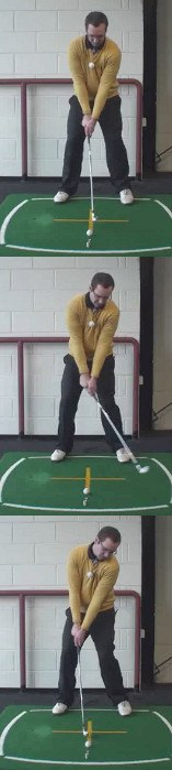 Left Hand Golf Tip How And Why, Lay Your Head On A Pillow Golf Swing