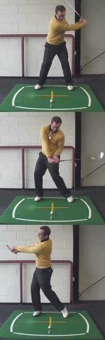 Left Hand Golf Tip How Best To Fire Your Left Side And Chasing The Club Down The Line