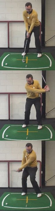 Left Hand Golf Tip How Best To Hit A Soft High Lob Shot