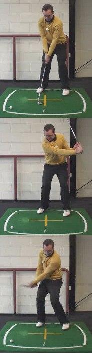 Left Hand Golf Tip How Best To Hit A Soft High Lob Shot