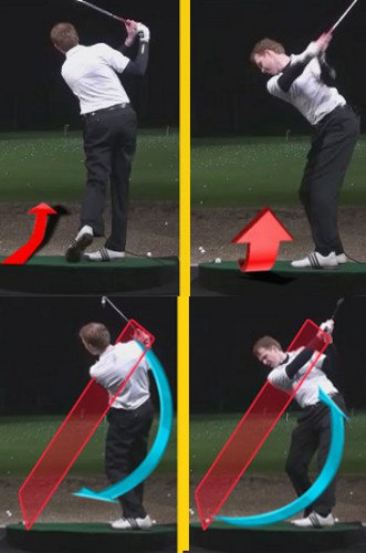 Left Hand Golf Tip How Best To Hit From A Downhill Lie