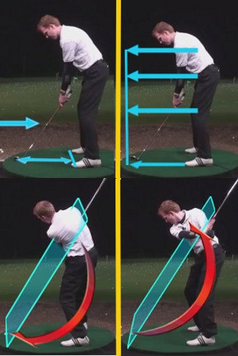 Left Hand Golf Tip How Best To Hit From A Uphill Lie