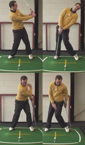 Left Hand Golf Tip How To Cure A Reverse Pivot Golf Swing Problem