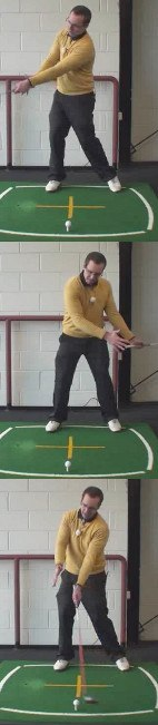 Left Hand Golf Tip How To Draw The Ball To Get Extra Driver Distance
