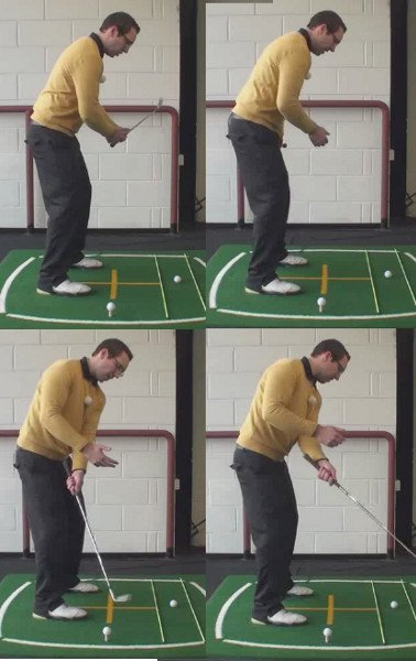 Left Hand Golf Tip How To Hit A Fade Or A Draw Shot