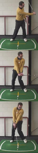 Left Hand Golf Tip How To Stop Hitting The Golf Ball Fat