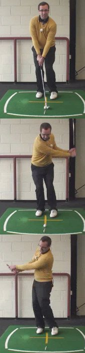 Left Hand Golf Tip Try To Keep The Club Face Open To Help Pitch Shots To Check