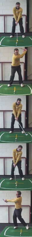 Left Hand Golf Tip What Is The Proper Foot Work Sequence From Address To Full Finish