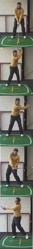 Left Hand Golf Tip What Is The Proper Head Movement During A Full Golf Swing