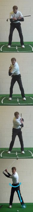 Main Cause Of Shoulder Turn Too Short, Golf Swing Tip