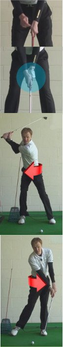 Right Hand Too Dominant Golf Swing, Cause And Cure, Golf Tip