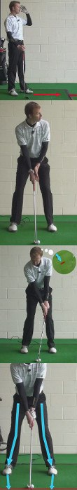 Tension In The Golf Swing, Causes And Cure, Golf Tip