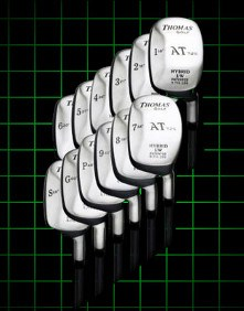 Thomas Golf AT 725 All Numbers Hybrid Golf Club Set