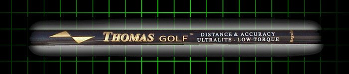 Thomas Golf Fairway Strong 11 Wood Shaft