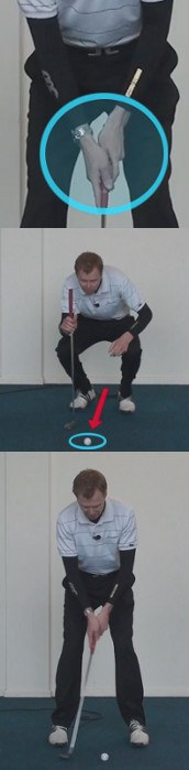 Wristy Putting Stroke Cause And Cure, Golf Tip
