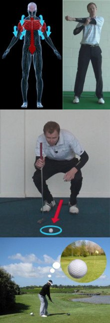 answer You dont use your on-course routine while practicing