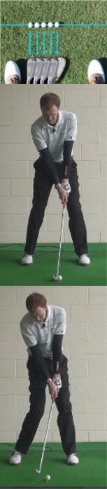 Answer How can I hit my iron shots lower