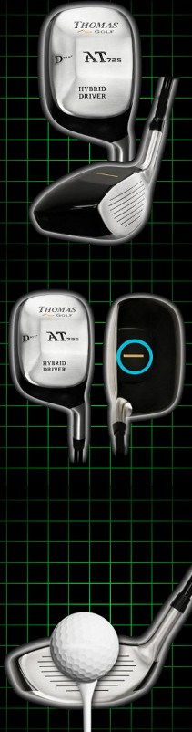 Thomas Golf AT725 Square Hybrid Mini Driver Review
