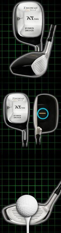 Thomas Golf AT725 Square Hybrid Mini Driver Review