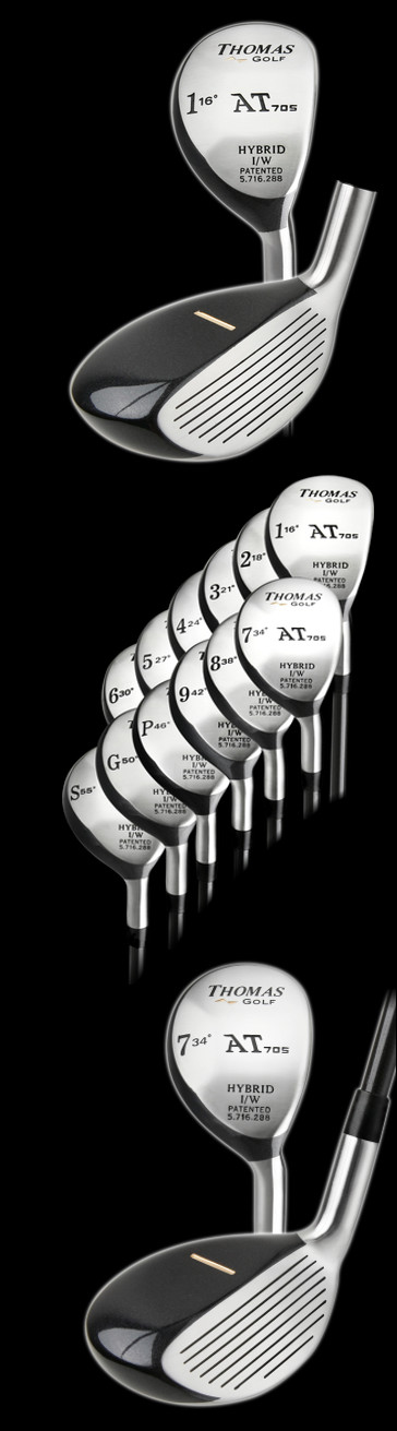Thomas Golf Pre-Owned AT705 Hybrid Golf Clubs