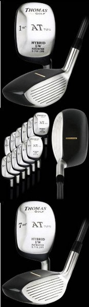 Thomas Golf Pre-Owned AT725 Square Hybrid Golf Clubs