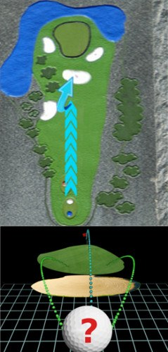 Answer How Can I Best Play A Hole With A Centre Line Bunker