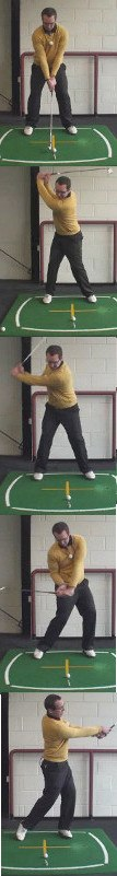 Correct Golf Answer Focus on keeping the head central
