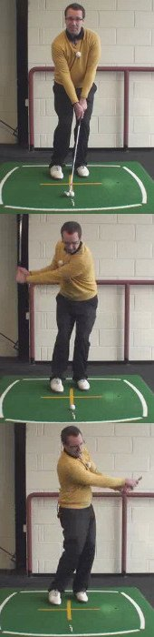 Correct Golf Answer Get up close and personal