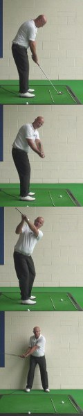 Correct Golf Answer Keep the hands tight to the body