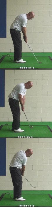 Correct Golf Answer Practice chipping with one hand