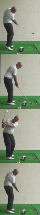 Correct Golf Answer Promote better rotation through the ball