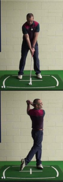 Correct Golf Answer Relax and refocus