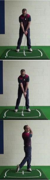 Correct Golf Answer Study the lie