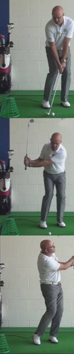 Correct Golf Answer Swing shallow and take less sand