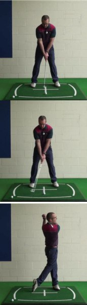 Correct Golf Answer Take a wide stable stance