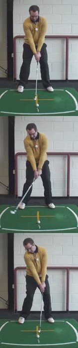 Correct Golf Answer To control the length of shot