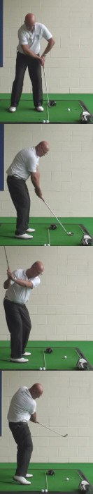 Correct Golf Answer Turn your hips and reach for the target