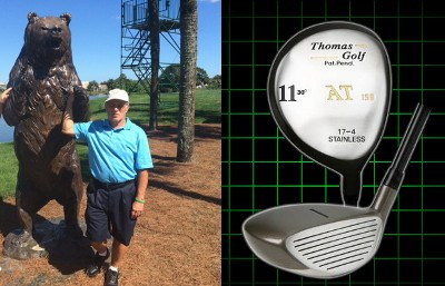 Hole in one with a Thomas Golf Brand 11 fairway Wood