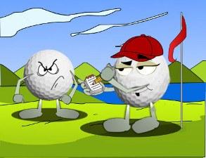 Sandbagger golf term