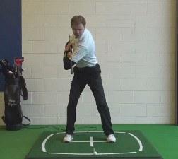 Shoulder Turn golf term